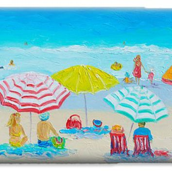 Beach Painting - Catching the breeze iPhone 6 Case