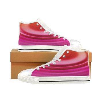 ripple High Top Canvas Women's Shoes/Large Size (Model 017) | ID: D2691352