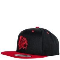 Caps - Snap Back - Street Wear - Grand Hustle Gang Snapback Cap - Black Red - DTLR - Down Town Locker Room. Your Fashion, Your Lifestyle! Shop Sneakers, Boots, Basketball shoes and more from Nike, Jordan, Timberland and New Balance