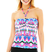 jcpenney | a.n.a® Ikat Print Bandini Swim Top or Solid Skirted Bottoms