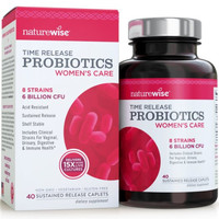 NatureWise Women's Probiotics w/ Cranberry - 40 caplets
