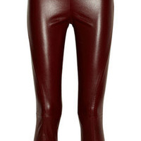 The Row | Nojac stretch-leather leggings-style pants | NET-A-PORTER.COM
