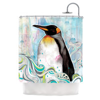 "Mat Miller ""King"" Shower Curtain"