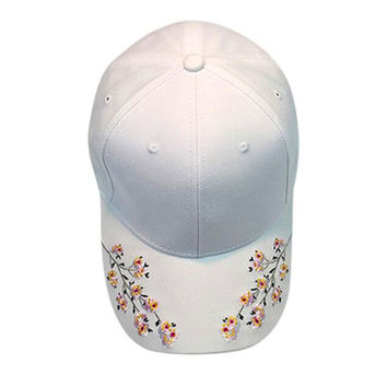 baseball cap for women pokemon gravity falls Women Embroidery Cotton Baseball Cap Snapback Caps Hip Hop Hats 1767 P40