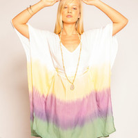 Tiare Hawaii Waikiki Dress Plum Tie Dye