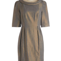 Emily and Fin Vintage Inspired Mid-length 3 Sack On Cloud Shine Dress