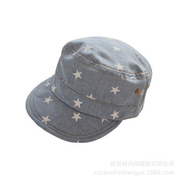 Retro Print Baby Hats Children Baseball Caps Boys Girls Summer Hats Little Stars Sun Hat Baby Kids Newborn Cotton Cowboy Cap