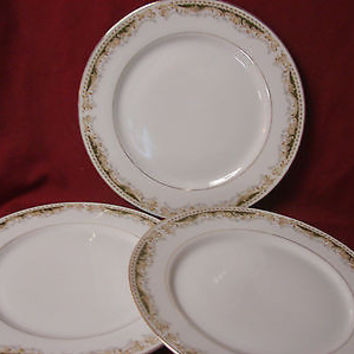 Select Fine china Signature Collection , Queen Ann, set 3 Dinner plate