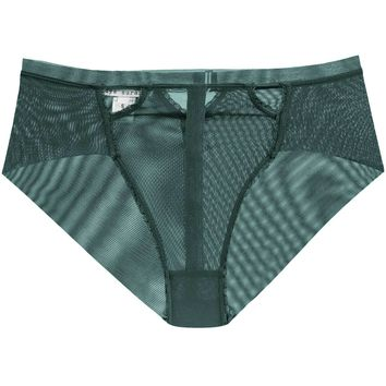 Triangle High-Waist Panty in Evergreen (S-L)