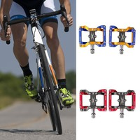 Alloy Road Bike Pedals Ultralight MTB Bearing Bicycle Pedal Bike Accessories Bicycle Bike Parts 2 Colors Available High Quality