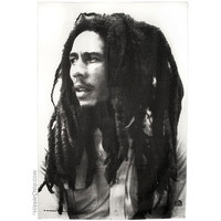 Bob Marley - Portrait  Fabric Poster on Sale for $14.95 at The Hippie Shop