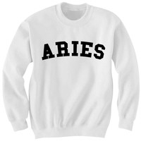 ARIES SWEATSHIRT TEAM ARIES SHIRT ZODIAC SIGN SHIRTS COOL SHIRTS HIPSTER CLOTHES GIFTS FOR TEENS BIRTHDAY GIFTS CHRISTMAS GIFTS
