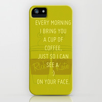 Castle (TV Show) Quotes | Richard Castle iPhone & iPod Case by Sandi Panda