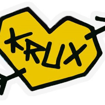 "Krux Tru Love 3"" Sticker @ Tactics.com"