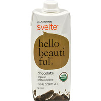 Svelte Protein Shake - Organic Chocolate - 15.9 Oz - Case Of 6