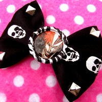 Bleach Anime Hair Bow Brooch