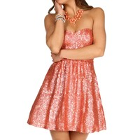 Sale-jazzlynn-coral Prom Dress
