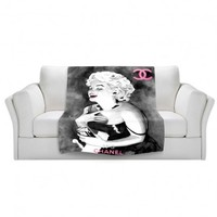 Marley Ungaro's 'Marilyn V' | Artistic Custom Throw Blankets