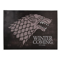 Game Of Thrones Stark Winter Is Coming Canvas Wall Art