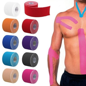 5cm x 5m Kinesiology Kinesio Roll Cotton Elastic Adhesive Muscle Sports Tape Bandage Physio Strain Injury Support = 1930485828