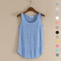 Fitness  Plus Size Loose Tank Top