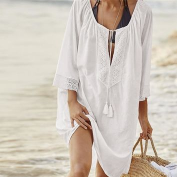 Kaftan Tunic Beach Cover Up