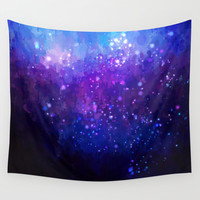 blue sky Wall Tapestry by Healinglove Art Products