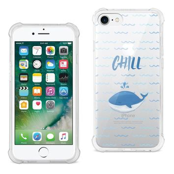 Reiko Reiko Iphone 7 Chill With Animated Dolphin Design Air Cushion Case In Clear