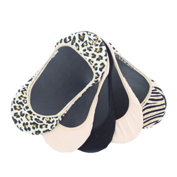 Animal Print Shoe Liners 5 Pair Pack