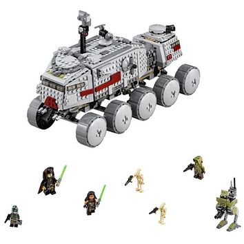 Star Wars Force Episode 1 2 3 4 5 933Pcs Clone Turbo Tank Military 75151 Building Blocks Set Compatible Legoing 75151 S  Toy 05031  Boys Toys Gift AT_72_6