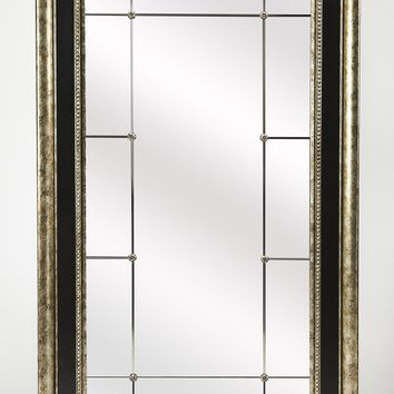 Myron Antique Pewter Full Length Mirror