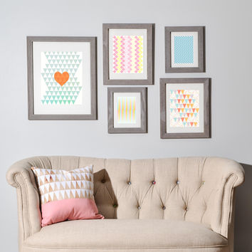 Hello Twiggs A Love Affiar Gallery Wall Set