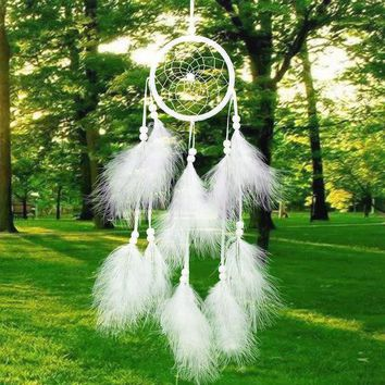 DCCKJ6E Dream Catcher Innovative Wind Bell Car Pendant [9613384911]