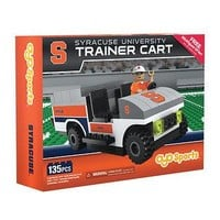 SYRACUSE ORANGE TRAINER CART 135 PCS INCLUDES 1 TRAINER MINIFIGURE OYO NEW