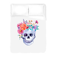 Flower Crown Duvet Cover