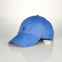 LINEN RESORT CAP