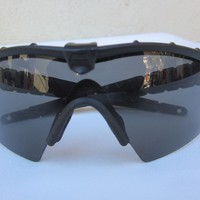 OAKLEY SI Ballistic M FRAME 2.0 SUNGLASSES Shades BLACK PLUTONITE LENSES Rare