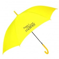 How I Met Your Mother Yellow Logo Umbrella
