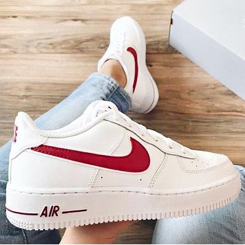 Nike Air Force 1 High Quality Women Men Couple Running Sport Shoes Sneakers
