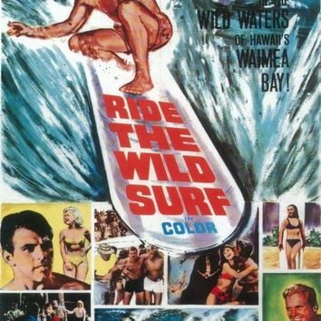 Ride The Wild Surf 27x40 Movie Poster (1964)