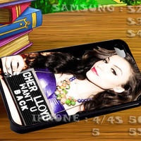 Cher Lloydl For iphone 4 iphone 5 samsung galaxy s4 / s3 / s2 Case Or Cover Phone.