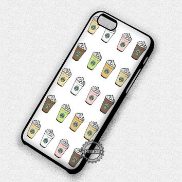 Starbucks Frappuccino Drinks - iPhone 7 6 5 SE Cases & Covers