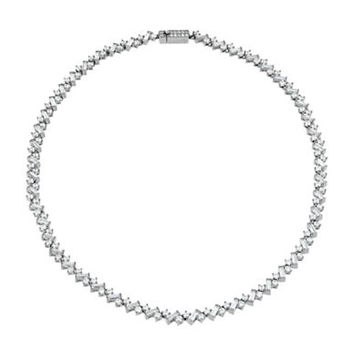 Nadri Cubic Zirconia Collar Necklace