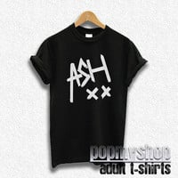 ashton irwin shirt 5sos t-shirt five seconds of summer shirt black DW34
