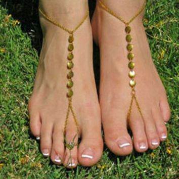 Barefoot Sandal Foot Chain
