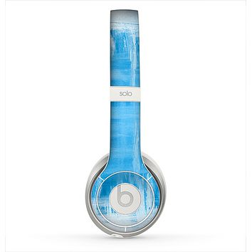 The Water Color Ice Window Skin for the Beats by Dre Solo 2 Headphones