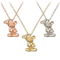 Disney Mickey Mouse Diamond Necklace - 18 Karat | Disney Store