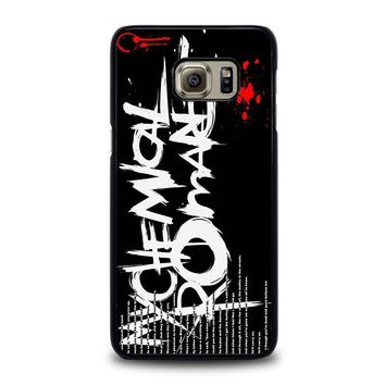 my chemical romance lyric samsung galaxy s6 edge plus case cover  number 2