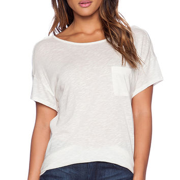 Joie Devika Tee in Cream