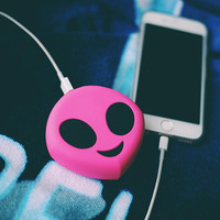 Pink Alien Emoji Power Bank 8800mAh